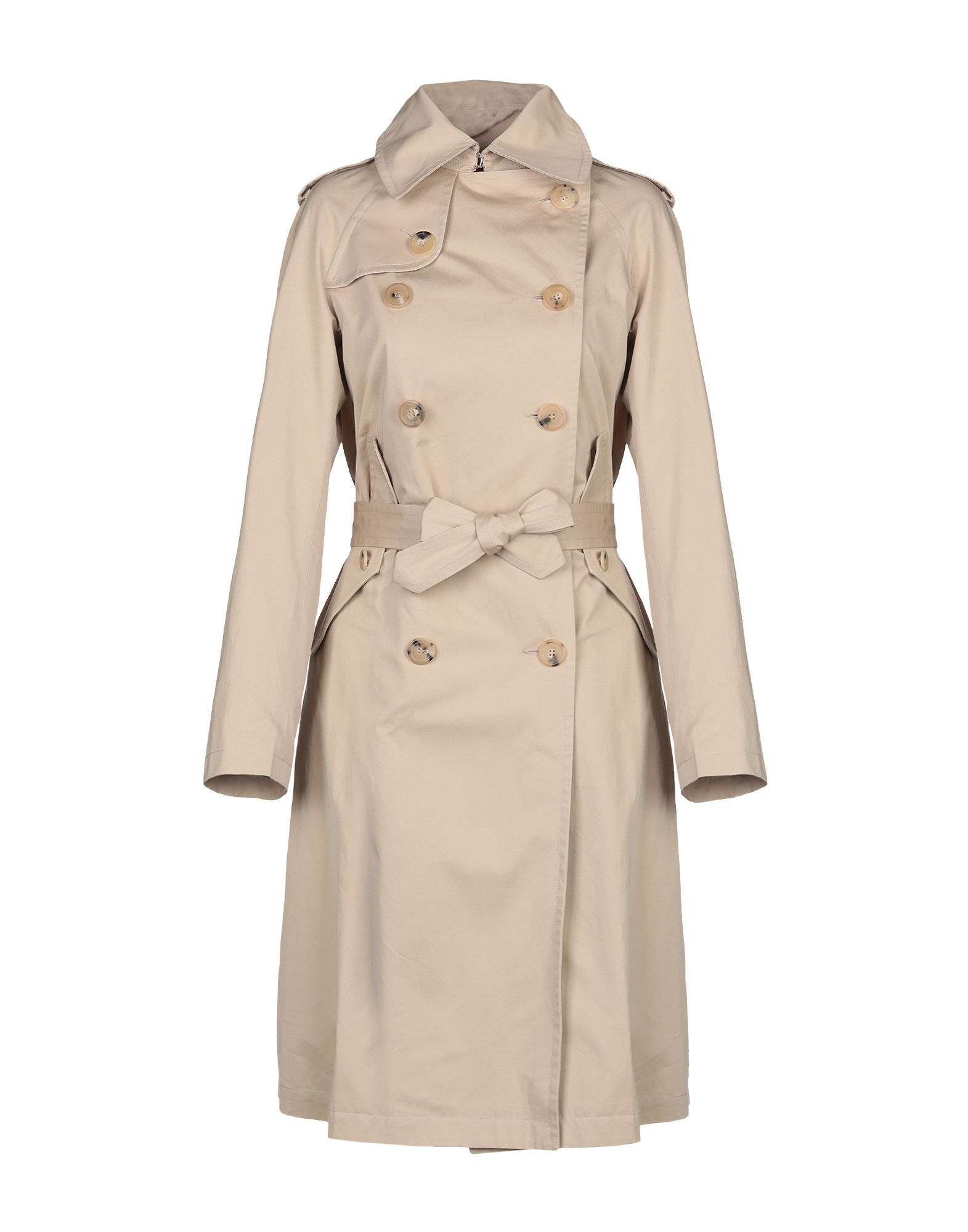 Sandro Full-Length Jacket In Beige