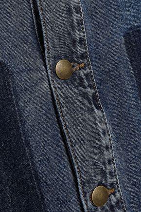 71e24ec0743 ... McQ Alexander McQueen Two-tone denim jacket. 1