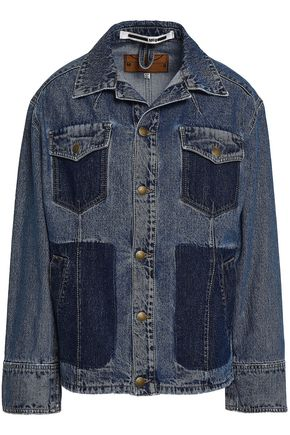 McQ Alexander McQueen Two-tone denim jacket
