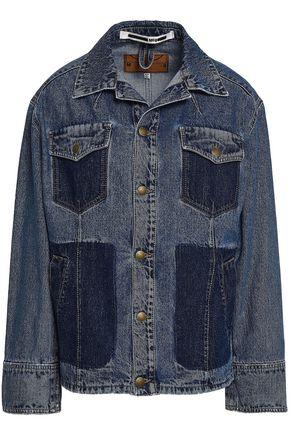 169e0dad31f McQ Alexander McQueen Two-tone denim jacket ...