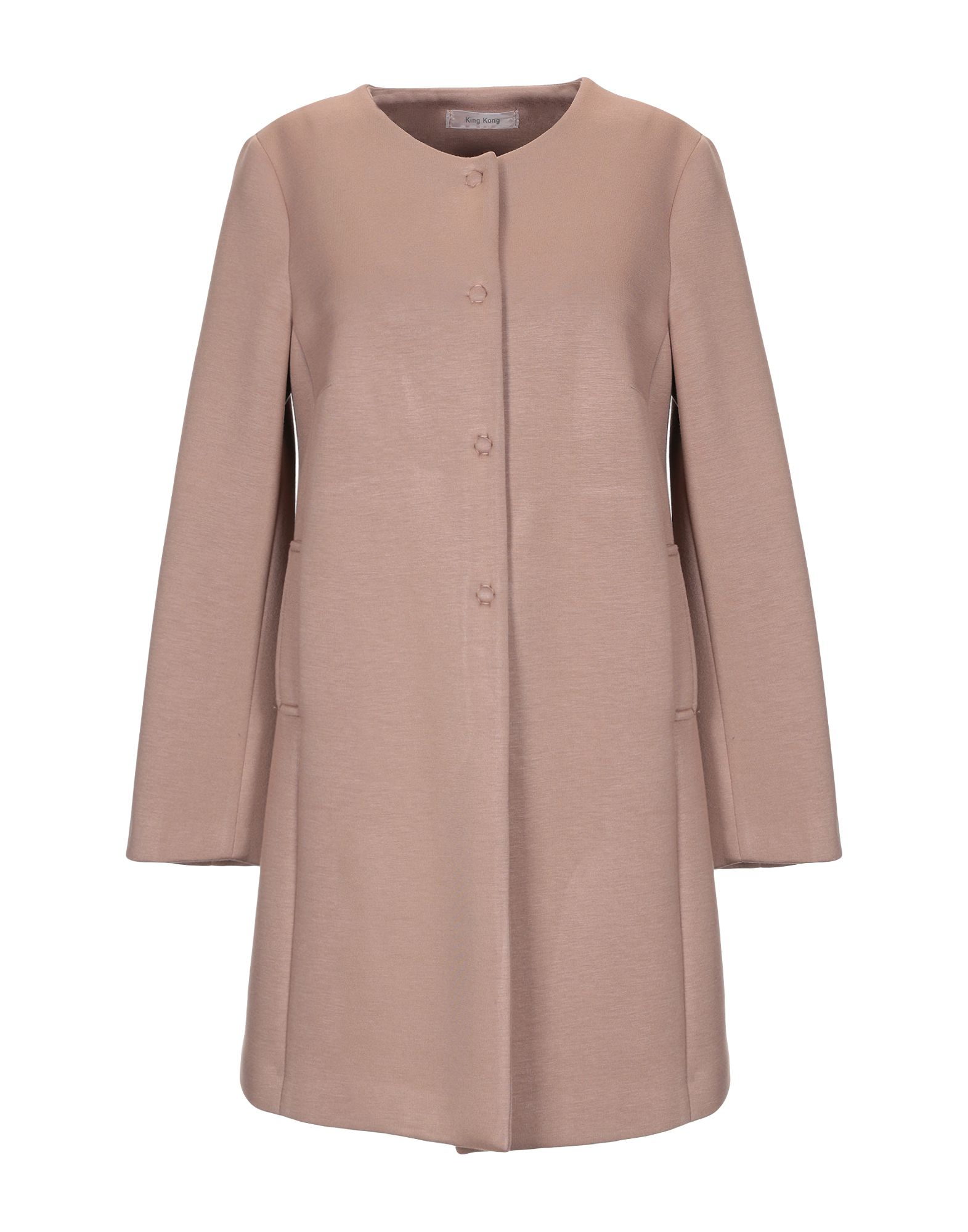 KING KONG Легкое пальто kocca легкое пальто