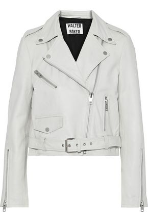 W118 by WALTER BAKER Ellette leather biker jacket