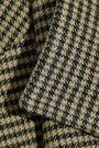 DEREK LAM 10 CROSBY Belted houndstooth cady coat