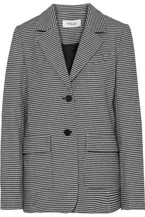 DEREK LAM 10 CROSBY Houndstooth woven blazer