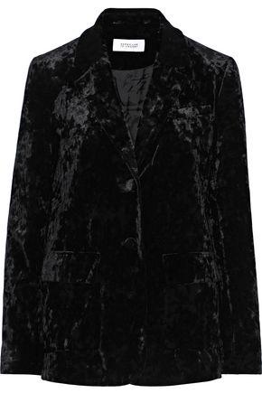 DEREK LAM 10 CROSBY Crushed-velvet blazer