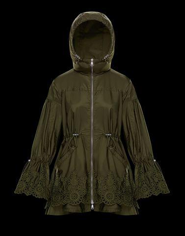 MONCLER BRAZZAVILLE - Overcoats - women