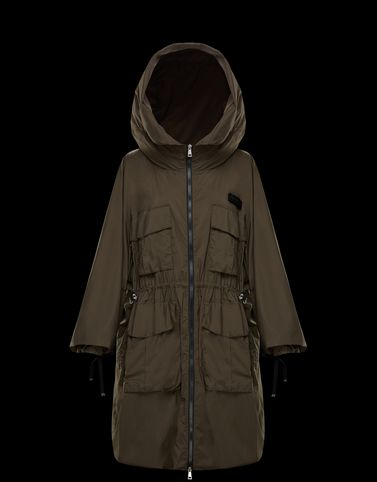Moncler Coats & Trench Coats Woman: NEWDELHI