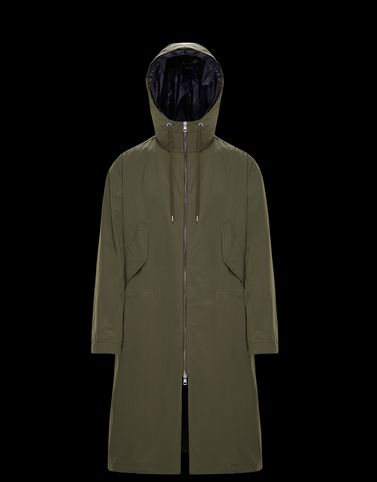 Moncler Coats & Trench Coats Man: ROLAND
