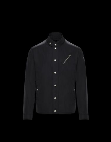 MONCLER NORMANDE - Biker jackets - men