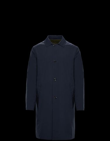 Moncler Coats & Trench Coats Man: ROTH