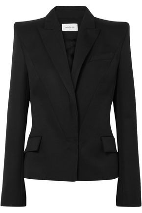 MUGLER Virgin wool blazer