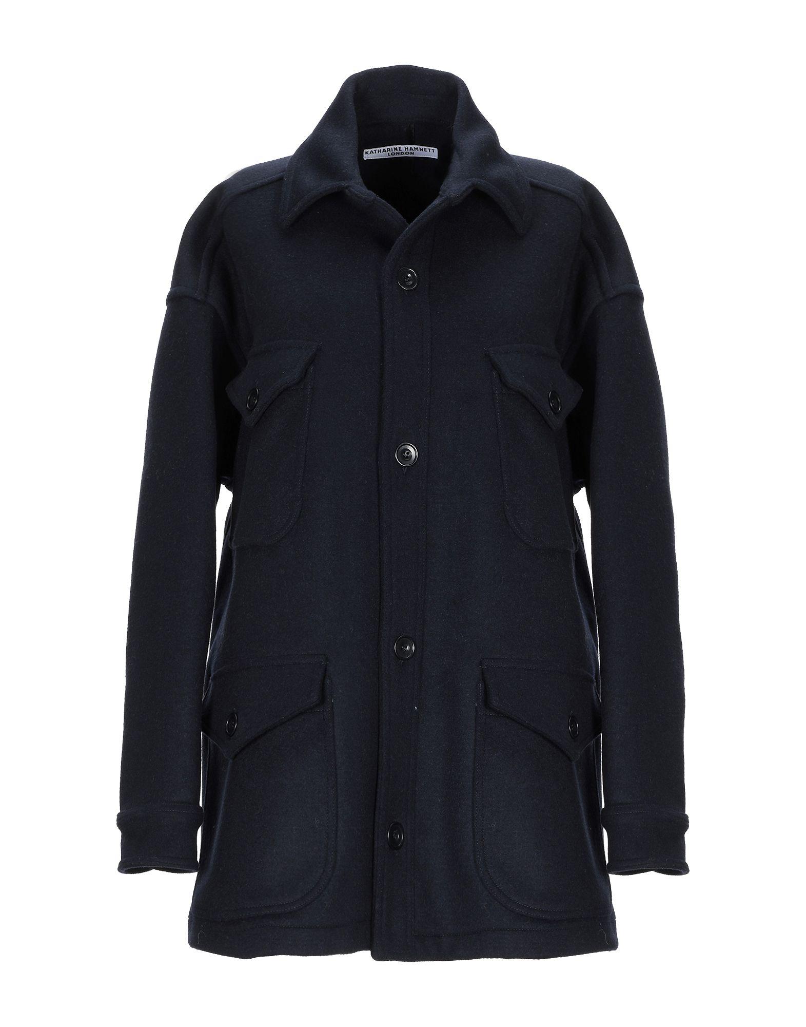 KATHARINE HAMNETT LONDON Пальто katharine e hamnett шелковая рубашка