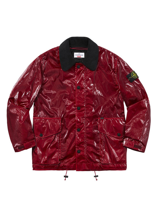 Jacket 402S3 NEW SILK LIGHT<br>STONE ISLAND FOR SUPREME STONE ISLAND - 0