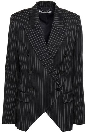 STELLA McCARTNEY Double-breasted wool-blend twill blazer