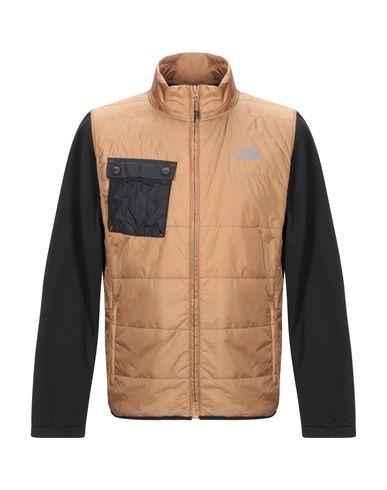 Купить Мужскую куртку THE NORTH FACE коричневого цвета