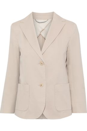 MAX MARA Livigno stretch-cotton twill blazer