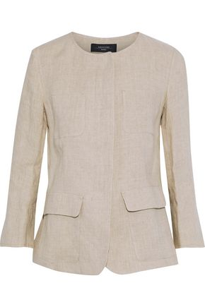 WEEKEND MAX MARA Ranghi linen jacket
