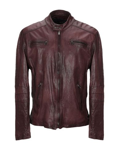 Купить Мужскую куртку L.B.K. темно-коричневого цвета