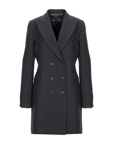 Фото - Женское пальто или плащ KEYFIT свинцово-серого цвета
