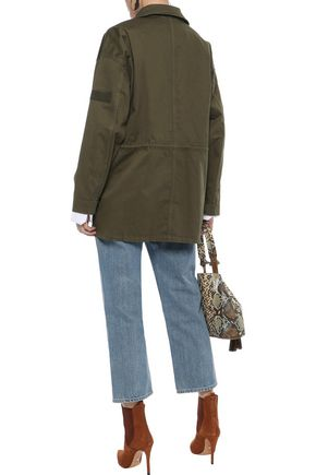 CURRENT/ELLIOTT The Updated Infantry stretch-cotton canvas jacket