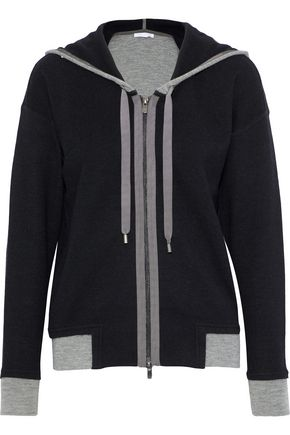 DUFFY Wool-blend hooded sweater