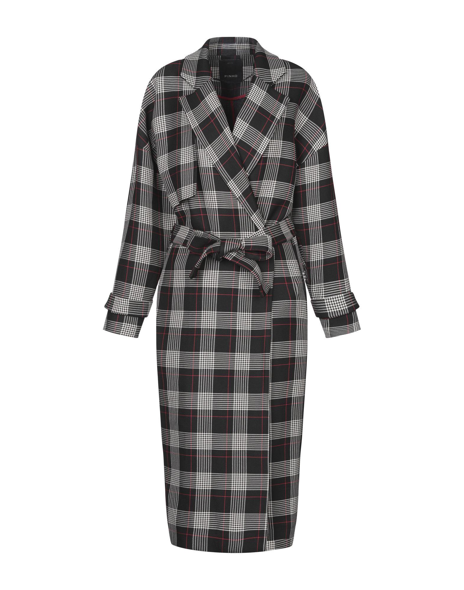 PINKO Легкое пальто pinko black легкое пальто