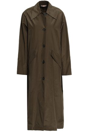 MICHAEL KORS | Michael Kors Collection Silk And Cotton-Blend Jacket | Goxip