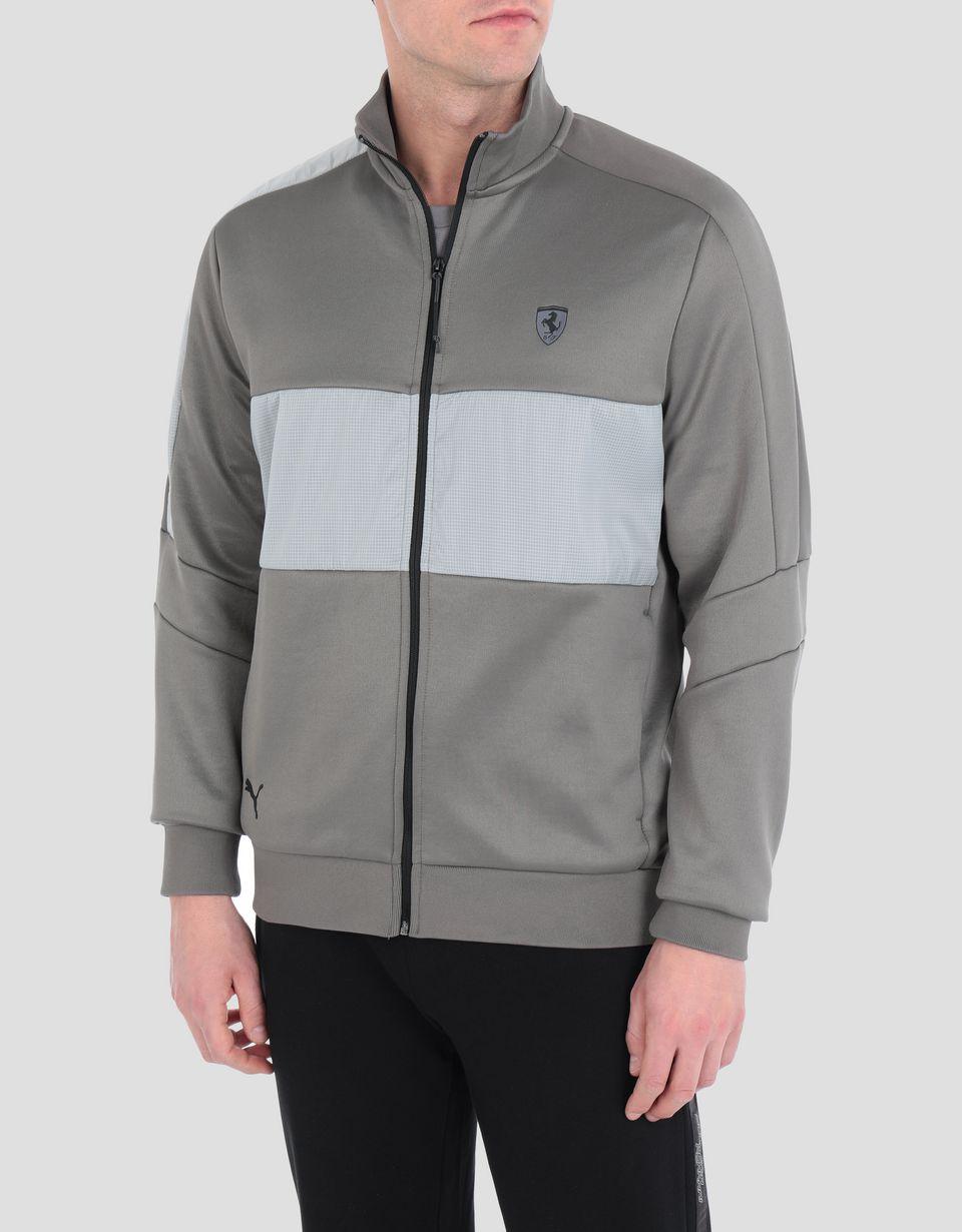 Scuderia Ferrari Online Store - Men's Ferrari T7 Track jacket - Bombers & Track Jackets