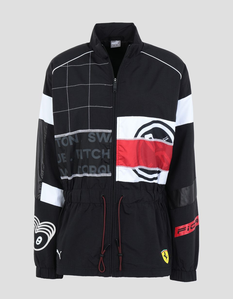 Scuderia Ferrari Online Store - Women's Scuderia Ferrari Speed Cat jacket - Raincoats