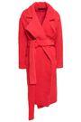 MICHAEL LO SORDO Fili belted faux fur coat