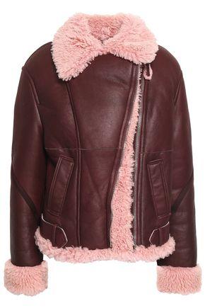 CEDRIC CHARLIER Shearling jacket