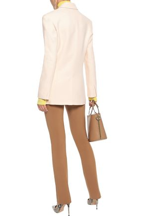 ROLAND MOURET Gilroy double-breasted alpaca and wool-blend twill blazer