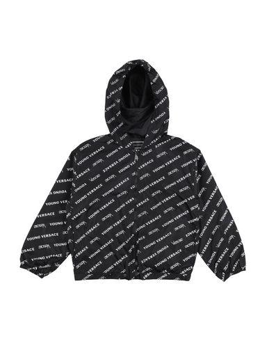 Купить Куртку от VERSACE YOUNG черного цвета