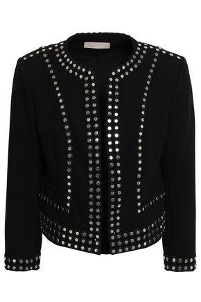 MICHAEL MICHAEL KORS Studded crepe jacket