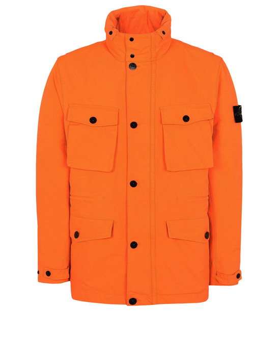 Mid-length jacket 44548 DAVID FLUO  STONE ISLAND - 0