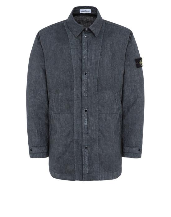 STONE ISLAND Mid-length jacket 43933 LINO RESINATO-TC