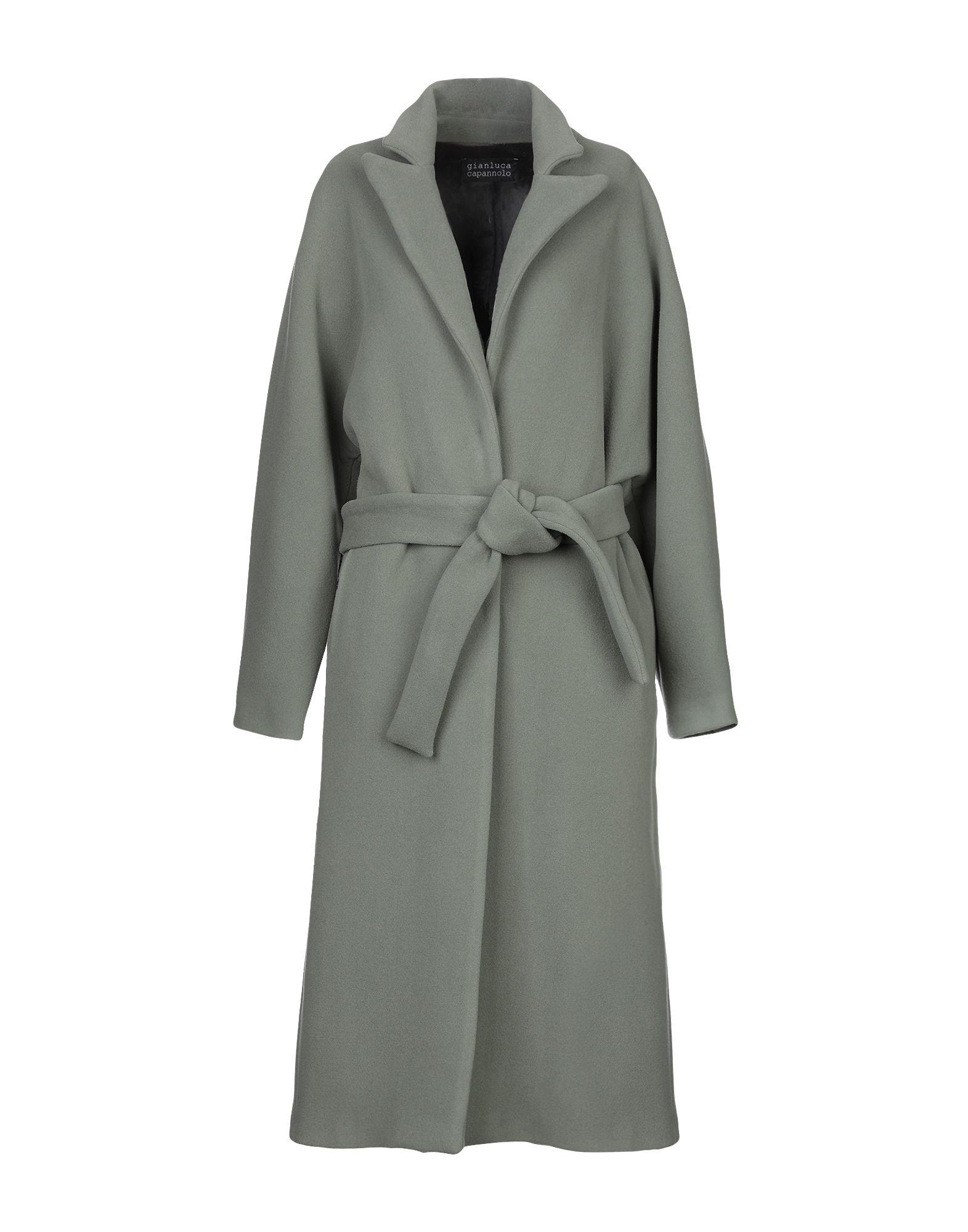 GIANLUCA CAPANNOLO Легкое пальто vivetta легкое пальто