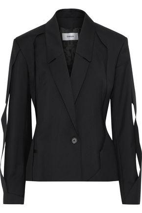 CHALAYAN Paneled twill blazer