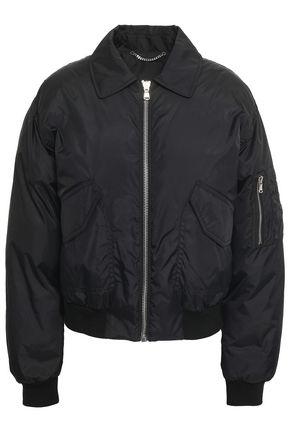 MOSCHINO 装飾付き シェル加工生地 ボンバージャケット