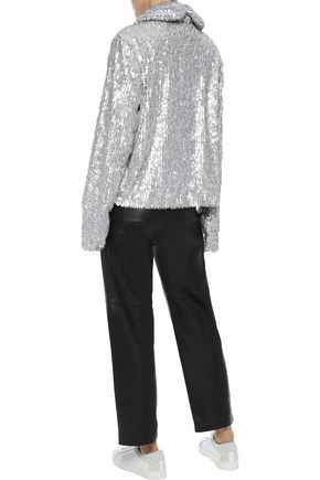 NORMA KAMALI Sequined jersey jacket
