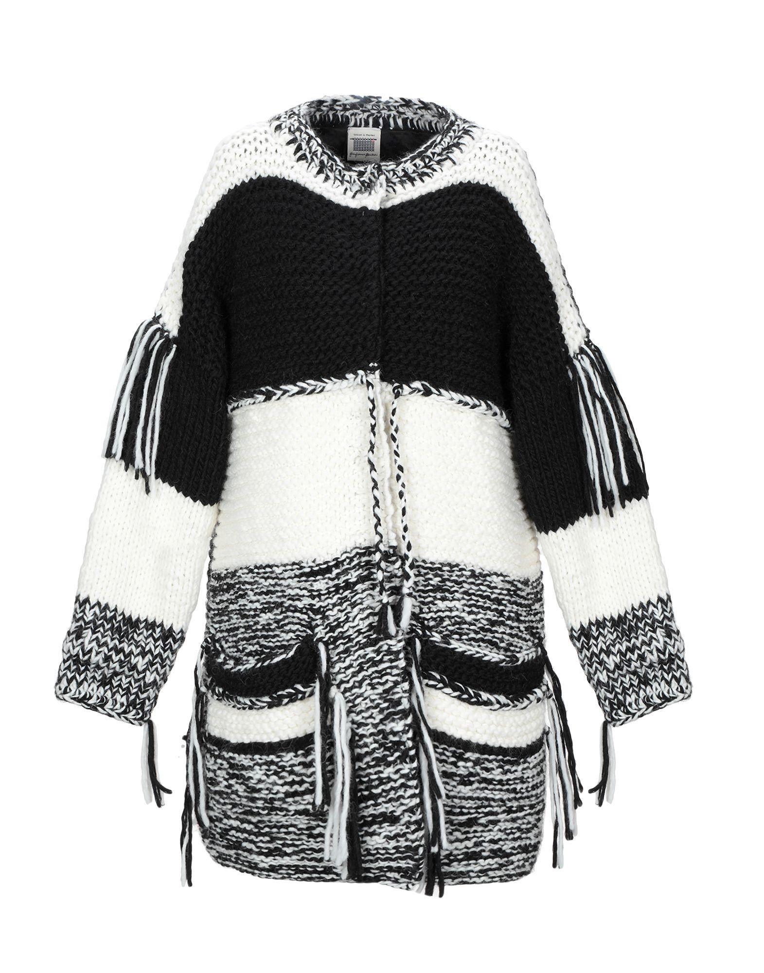 TRICOT-À-PORTER GIANFRANCO BARBIERI Пальто celebrities tricot пальто