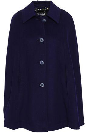 BOUTIQUE MOSCHINO Wool-blend felt cape