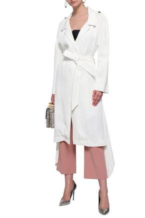 ROLAND MOURET Twill trench coat