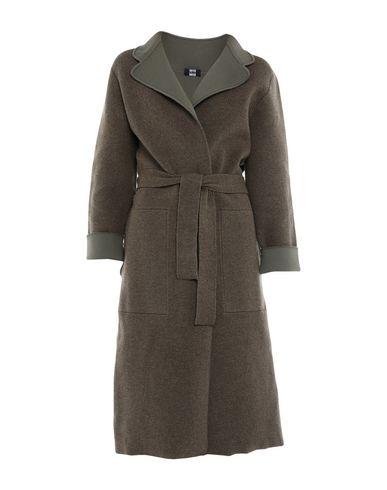 Фото - Женское пальто или плащ  цвет зеленый-милитари