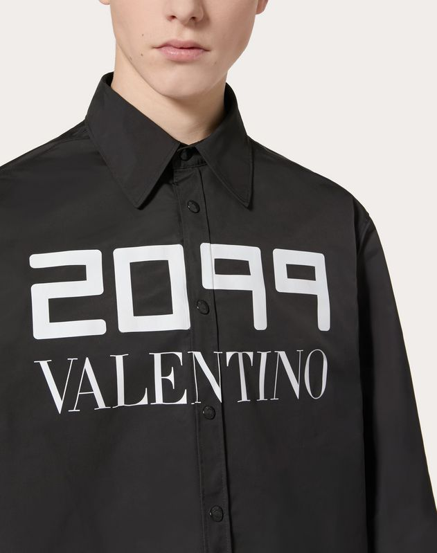 JACKET WITH 2099 VALENTINO PRINT