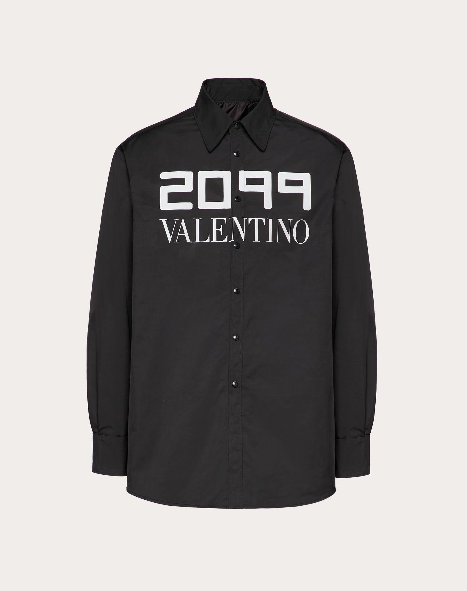 JACKET WITH 2099 VALENTINO PRINT