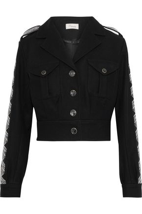 TEMPERLEY LONDON Medal embellished wool jacket
