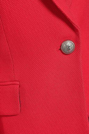 BALMAIN Piqué blazer