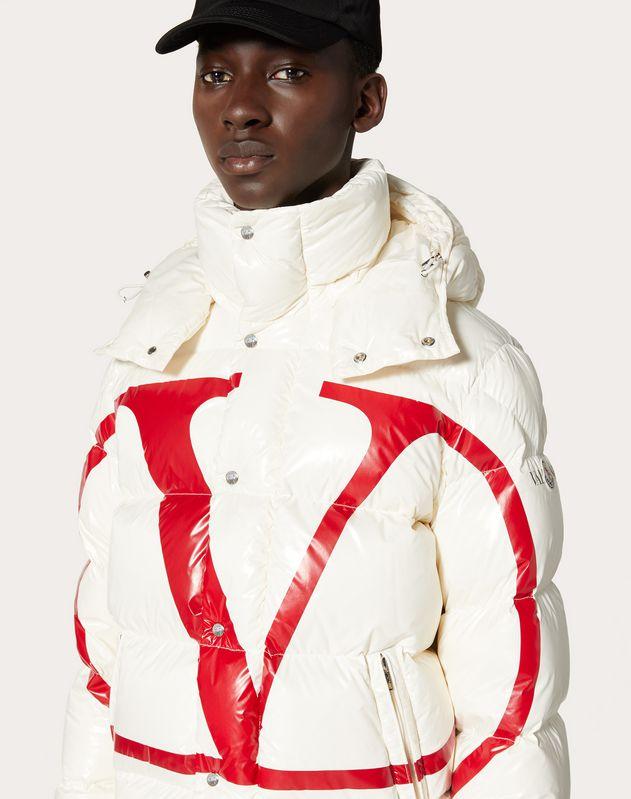 Moncler VLOGO 漆面尼龙衬垫夹克