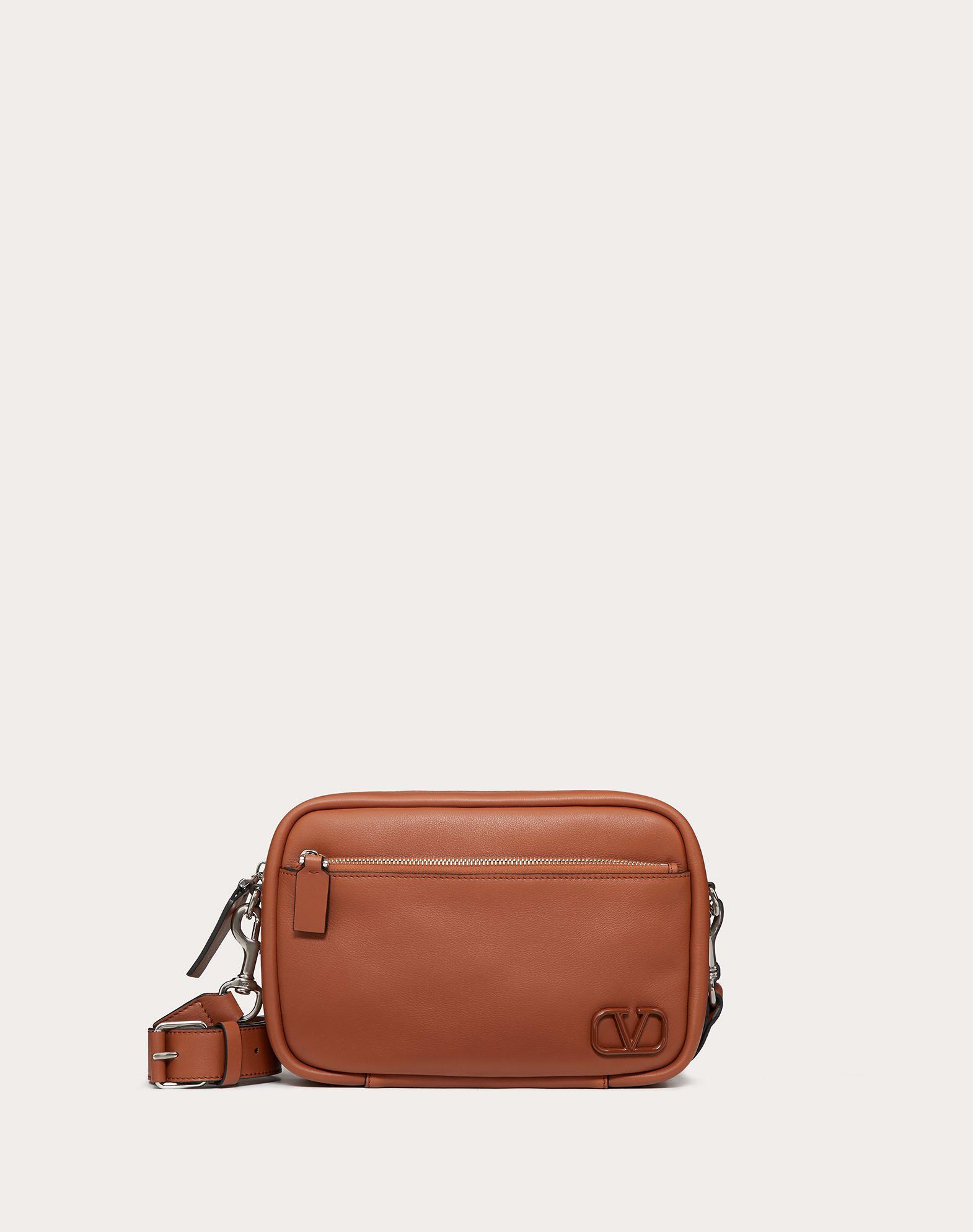 Crossbody Bag VLOGO aus Leder